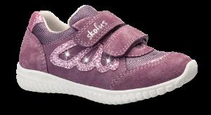 Skofus barnesneaker mørk rosa