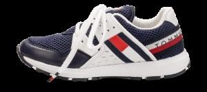 Tommy Hilfiger barne-sneaker navy T3B4-30327-