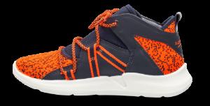 Superfit barne-basketstøvle navy/oransje 409395