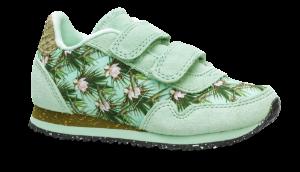Woden Wonder barne-sneaker lysegrønn WW0044-504