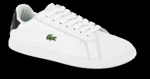 Lacoste sneaker hvit Graduate BLK