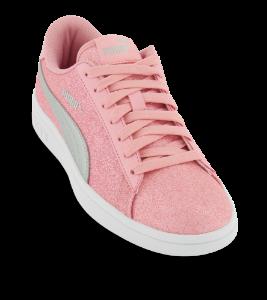 Puma sneaker pink Smash v2 Glitz Glam Jr 367377