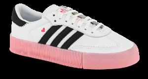 adidas sneaker hvit Originals SAMBAROSE W