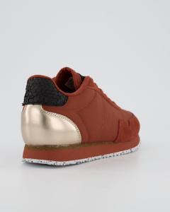 Woden Wonder sneaker rustbrun WL163