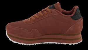 Woden Wonder sneaker rustbrun WL1751