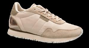 Woden dame-sneaker beige WL159-008