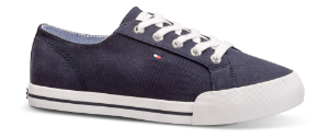Tommy Hilfiger dame canvas navy FW0FW03853