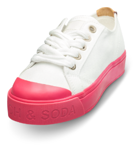 Scotch & Soda sneaker hvit Sylvie