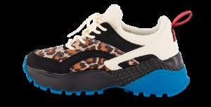 CULT sneaker leopard/sort