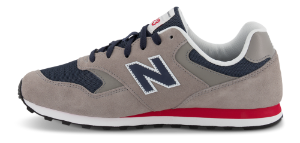 New Balance Sneakers Grå ML393SH1
