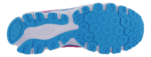 CULT sneaker hvit/fuchsia/blå