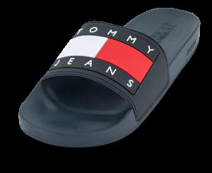 Tommy Jeans Badesandaler Blå EM0EM00689C87