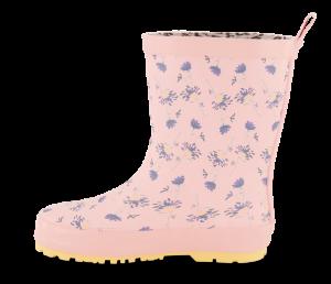 Skofus barnegummistøvel rosa
