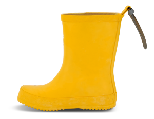 Skofus barnegummistøvel gul
