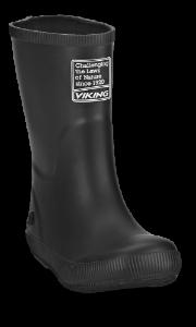 Viking børnegummistøvle sort 1-13200 Classic