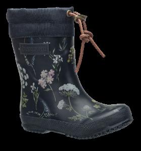 Bisgaard børnegummistøvle blå blomst 92009999