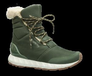ZERO°C damestøvlett grønn 10004
