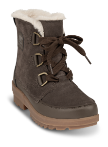 Sorel kort damestøvle brun 1886261