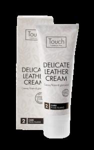 Touch Del.Leath.Cream - Sort