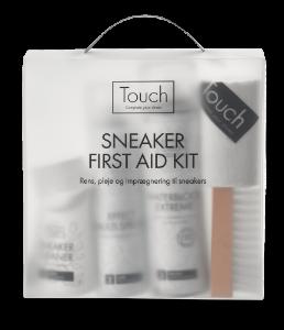 Touch Sneaker First Aid - Rens, pleje og imprægnering til sneakers