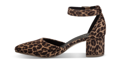 Duffy damepumps leopard 97 00718 | Skoringen