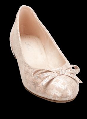 klassiske sko frigør info om super tilbud B&CO dame-ballerina rosa