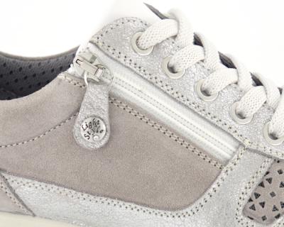 Nordic Softness dame sneaker grå