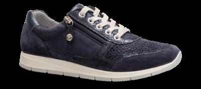 Nordic Softness dame sneaker blå
