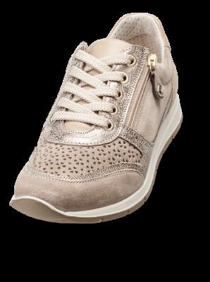 Nordic Softness dame sneaker beige