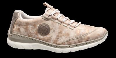 Beige Sneaker  Rieker  Sneakers - Sko Til Dame