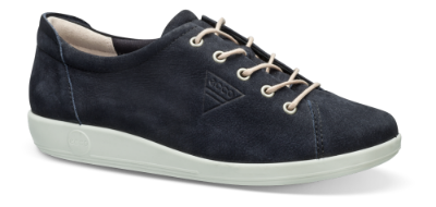 ECCO dame sneaker marineblå 206503 SOFT 2.0