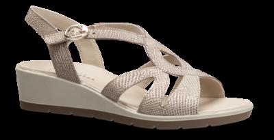 Ecco, Felicia sandal Black, Dame sandal med hæl, 216513