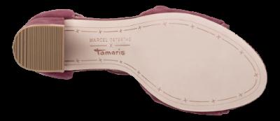 Tamaris damesandal bordeaux 1 1 28309 22