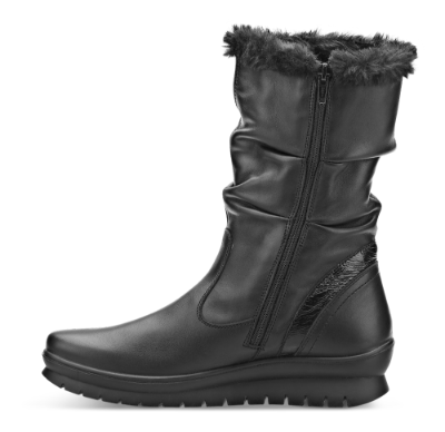 Rieker ankelstøvler Rieker sko med lange skaft, brune i