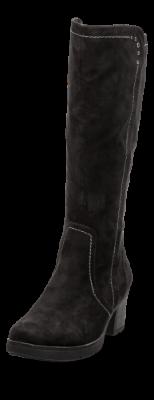 Rieker lang damestøvlett sort 79983 01 | Skoringen