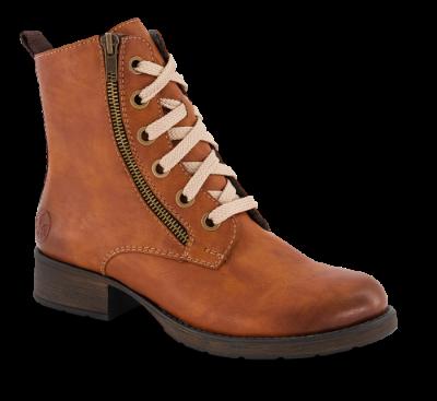 Rieker kort damestøvlett brun 70820 24 | Skoringen