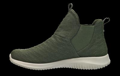 Skechers damestøvlett grønn 12835 | Skoringen