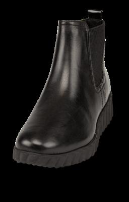 Tamaris kort damestøvlett sort 1 1 26444 23