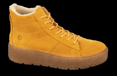 Tamaris kort damestøvle gul 1 1 26096 23