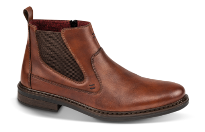 Rieker kort herrestøvle brun 37662 24