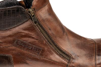 Bugatti kort herrestøvle brun 311593321100