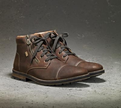 Rieker kort herrestøvle brun F5530 25