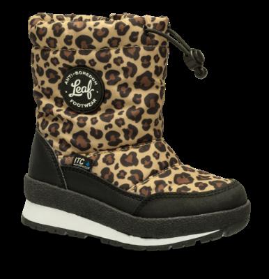 LEAF barnestøvlett leopard LILSB101E
