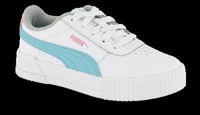 Puma børnesneaker hvid Carina L PS 370678