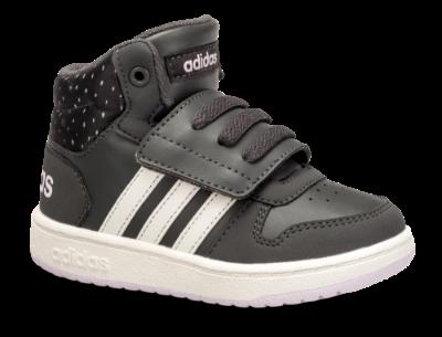 adidas baby basketstøvle grå HOOPS MID 2.0 I.