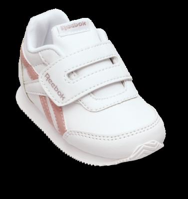 Reebok børne sneaker hvidpink Royal CL Jog