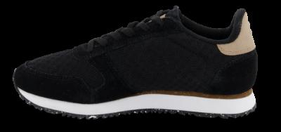 Woden Wonder sneaker sort WL028 | Skoringen