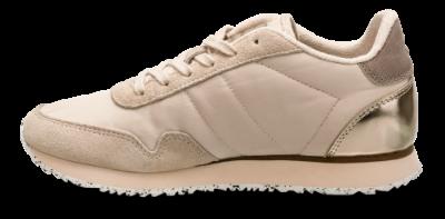 Woden dame sneaker beige WL159 008
