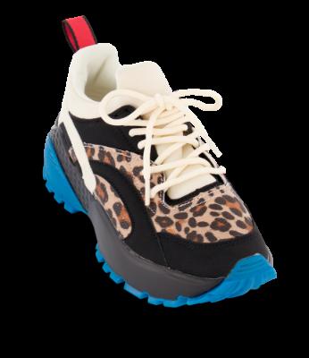 CULT sneaker leopardsort