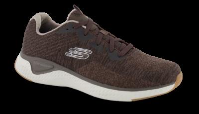 Skechers sneaker brun 52758